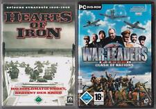 Era leaders Clash of Nations + Hearts of Iron colección juegos PC