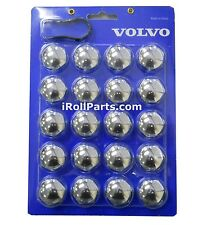 Genuine Volvo Lug Bolt Covers S60 S80 V70 XC70 XC90 See Chart NEW OEM