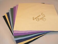 250 x Personalised (Design Your own image) Luxury 3 Ply Wedding  Napkins