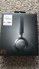 New in Sealed Box Philips Fidelio F1 on-ear headphones with mic
