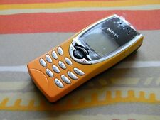 Nokia 8210 orange, original, unlocked, NEW, RARE, showcase mobile phone.