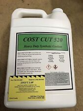 1 GALLON- USA SYNTHETIC HEAVY DUTY COOLANT CUTTING FLUID- CNC- WATER SOLUBLE