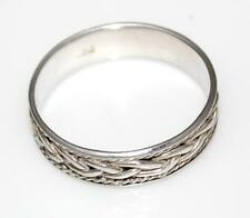 925 STERLING SILVER CELTIC KNOT MEN'S RING Size UK 1, US 13.25 / R 135