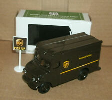 "1/55 Scale UPS Delivery Truck Diecast Model 4"" United Parcel Service Package Car"