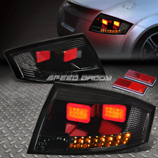 SMOKE BLACK 3D LED BAR BRAKE+SIGNAL TAIL LIGHT FOR 00-06 AUDI TT TYN 8N MK1 PQ34