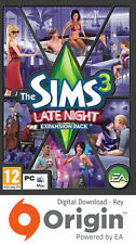 Les sims 3 late night expansion pack mac et pc origin key
