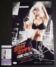 JESSICA ALBA & ROBERT RODRIGUEZ Authentic Signed SIN CITY 11x17 Photo JSA/COA