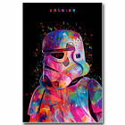 Star Wars 7 Force Awakens Movie Art Silk Poster 24x36 inch