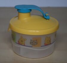 TUPPERWARE Winnie The Pooh Milk Powder Formula Snack Dispenser New
