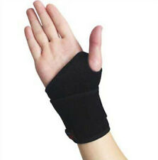 Sticky Spontaneous Heat Thumb Loop Splint Wrist Brace Support Strap Band Sport