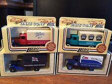 Lledo Models of Days Gone Promotional Job Lot of 4 1934 Mac Canvas Back Truck