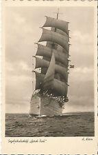 Segelschulschiff Gorch Fock, alte Foto-Ak um 1930, Schiff-Segelschiff-Marine