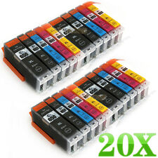 20 Ink Cartridge PGI650 CLI651 for Canon PIXMA MG5460 MG6460 MG7160 IP7260 MX926