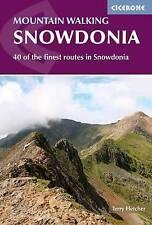 Mountain caminando en Snowdonia: 40 de los mejores rutas (Nuevo Libro) Terry Fletcher