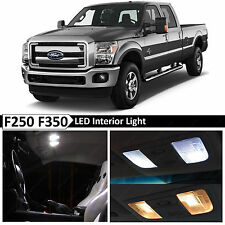 20x White Interior LED Lights Package Kit for 1999-2016 Ford F250 F350 + TOOL