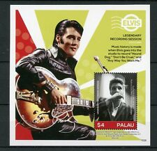 Palau 2016 MNH Elvis Presley His Life in Stamps 1v S/S III Recording Celebrities