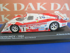 Die cast 1/43 Toyota 94CV 24H Le Mans 1994 by Ixo