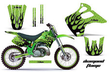KAWASAKI KX 125/250 Graphic Kit AMR Racing # Plates Decal Sticker Part 92-93 DPG