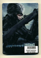 METAL GEAR RISING REVENGEANCE STEELBOOK Case Only & DLC XBox 360 G1  New Sealed