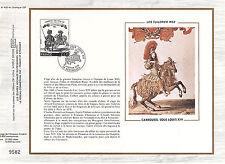 DOCUMENT CEF PREMIER JOUR 1978  CARROUSSEL SOUS LOUIS 14