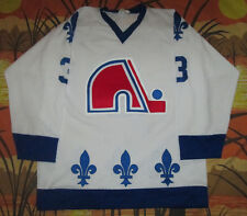 rare vtg 80s QUEBEC NORDIQUES NHL HOCKEY TEAM JERSEY shirt SWEATER large L #3