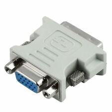 DVI-I (M) 24+5 pin to VGA (F) Thumb/Screw retainers HDTV Video converter adapter