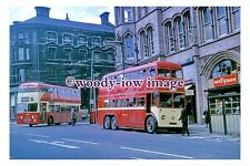 gw0433 - Huddersfield Trolleybus no 629 at Town Centre in 1968 - photograph