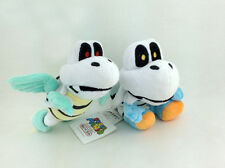 2X Super Mario Bros Dry Bones Parabones Koopa Troopa Plush Toy Stuffed Animal 6""