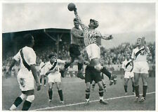144.  Football Peru - Austria 4:2 Quarter finals OLYMPIC GAMES 1936 CARD