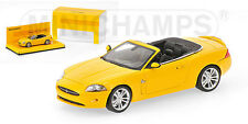Jaguar XK Cabrio 2005 Yellow 1:43 Model MINICHAMPS