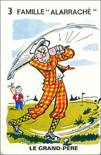 Golf SPORT PLAYING CARD CARTE À JOUER HUMOR HUMOUR 60s