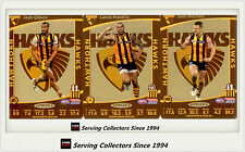 2012 AFL Teamcoach Trading Cards Prize Team set Hawthorn (3)