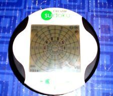 Circular Sudoku Electronic Handheld Travel Game  Game Tested. Lighted Rare