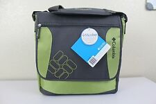NWT COLUMBIA TIMELESS TRAVEL DIAPER BAG with Thermal Bottle Chamber Charcoal