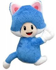 Super Mario Toad Cat Version with Magnetic Hands Plush 19 cm. MULTIPLAYER