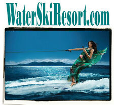 Water Ski Resort .com Rooms Cabin Camp Jet Water Ski Boat Motel Domain For Sale