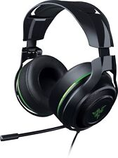 Razer ManO'War Wired 7.1 Virtual Surround Sound Gaming Headset - Black/Green