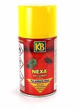 KB Tac Spray Nexa insetticida per ambienti chiusi Anti Cimici Blatte Zanzare