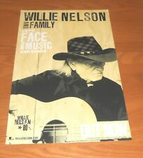 Willie Nelson and Family Let's Face the Music and Dance Promo 2013 Poster 11x17