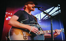 Eric Paslay signed 8 x 10, Friday Night, Song About a Girl, High Class, COA