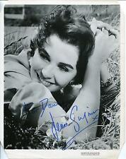 JEAN SIMMONS DARK SHADOWS SPARTACUS THE ROBE ACTRESS SIGNED PHOTO AUTOGRAPH