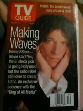 1997 TV Guide - Howard Stern - Mary McCormack - Law and Order - Benjamin Bratt