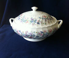 Wedgwood Angela (fluted)  lidded vegetable serving bowl / tureen