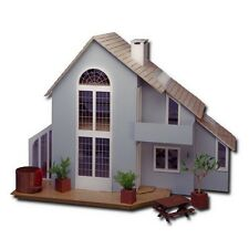 Greenleaf - The Brookwood Dollhouse - Modern Wood / Wooden Dollhouse Kit