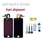 LCD Display Touch Glass Digitizer Screen for ipod touch 5 5th Gen Black