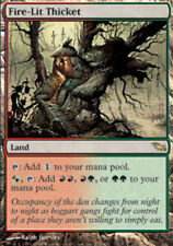 1x Slightly Played Fire-Lit Thicket MTG Shadowmoor -ChannelFireball-