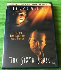 THE SIXTH SENSE (DVD, 2000, Collector's Edition Series) Bruce Willis