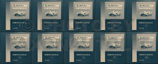 1998 1997 1996 1995 Subaru Impreza Shop Manual 10 Volume Set OEM Repair Service