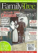 FAMILY TREE,   AUGUST, 2013 ( YOUR ANCESTRO YOUR HISTORY  ) UNLOCK YOUR CENSUS