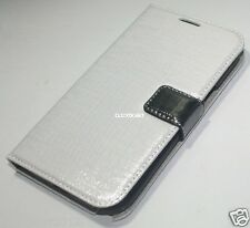 Leather Case With Screen Protector For Samsung Galaxy N7100 Note 2